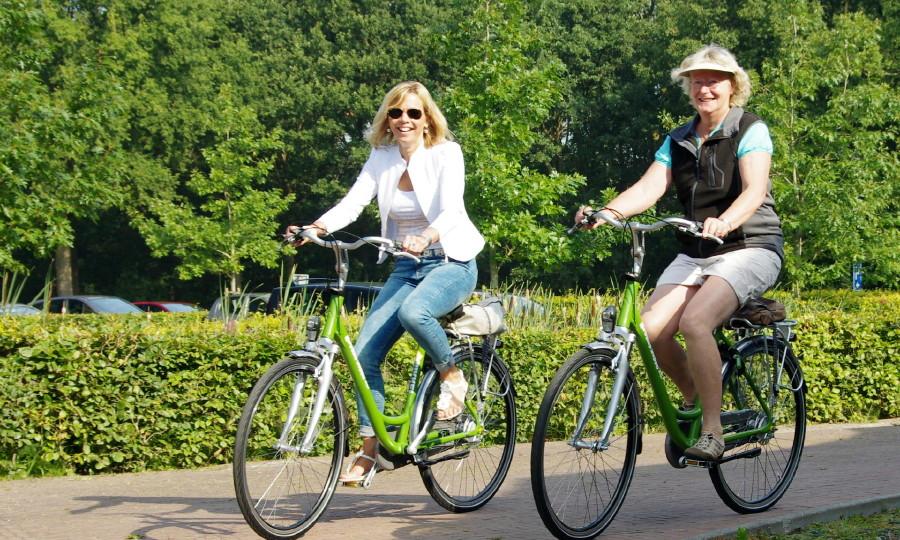 Groene fiets verhuur
