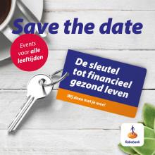 Rabobank event 'De sleutel tot een financieel gezond leven' voor alle leeftijden